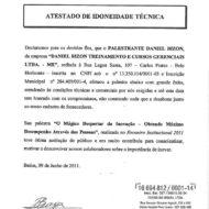 Recomendação TEKSID Grupo FIAT Palestrante Daniel Bizon