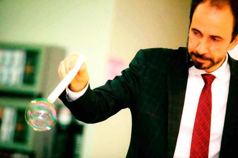 Palestra sobre inovação com Daniel Bizon