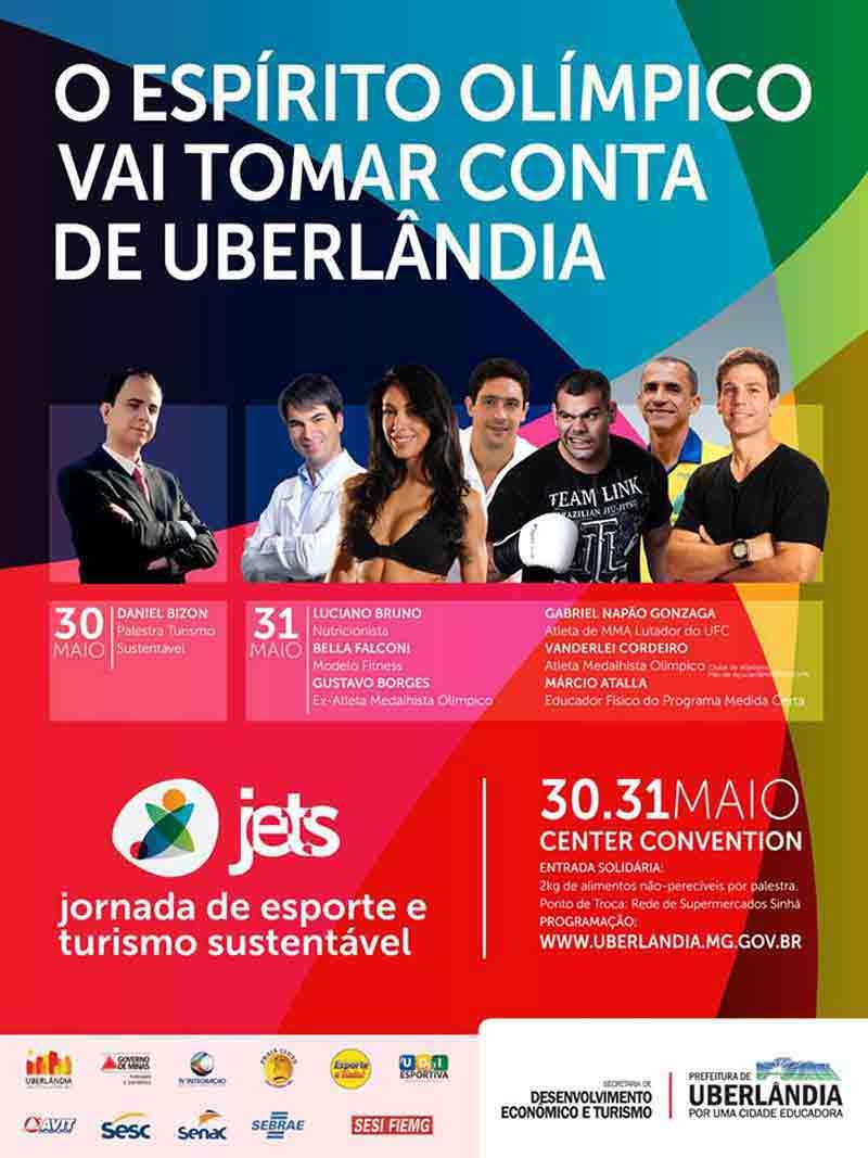 Palestra com Daniel Bizon abrirá evento do turismo em Uberlândia