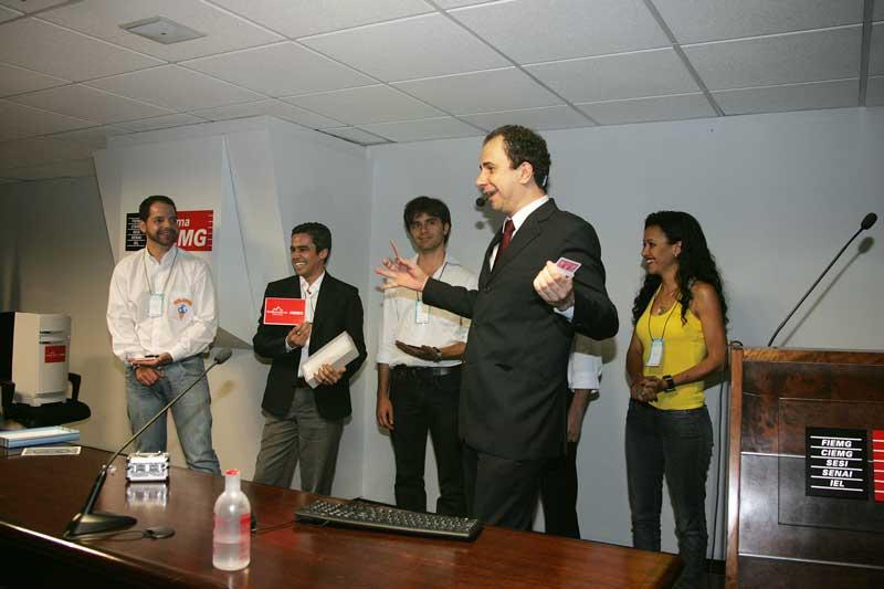 Treinamento corporativo participativo