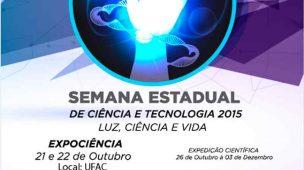 Logo da Semana Estadual de Ciência e Tecnologia do Acre
