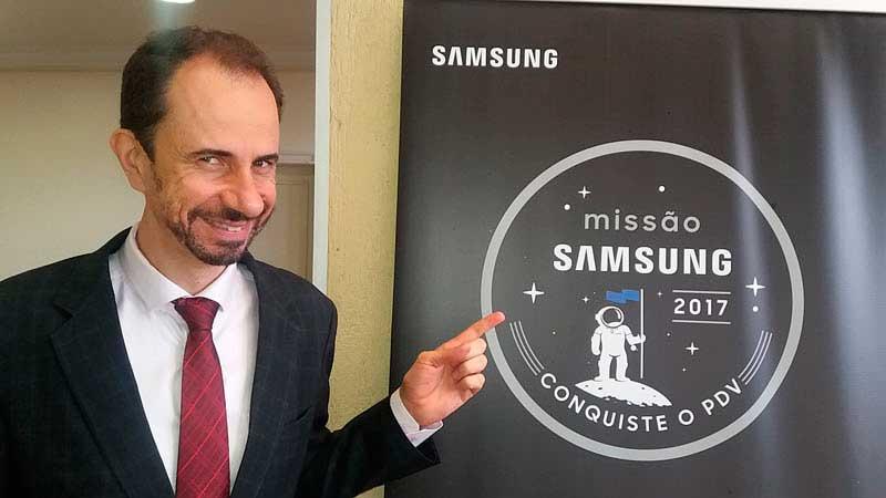 Daniel Bizon foi o palestrante escolhido para a Convenção de Vendas Samsung