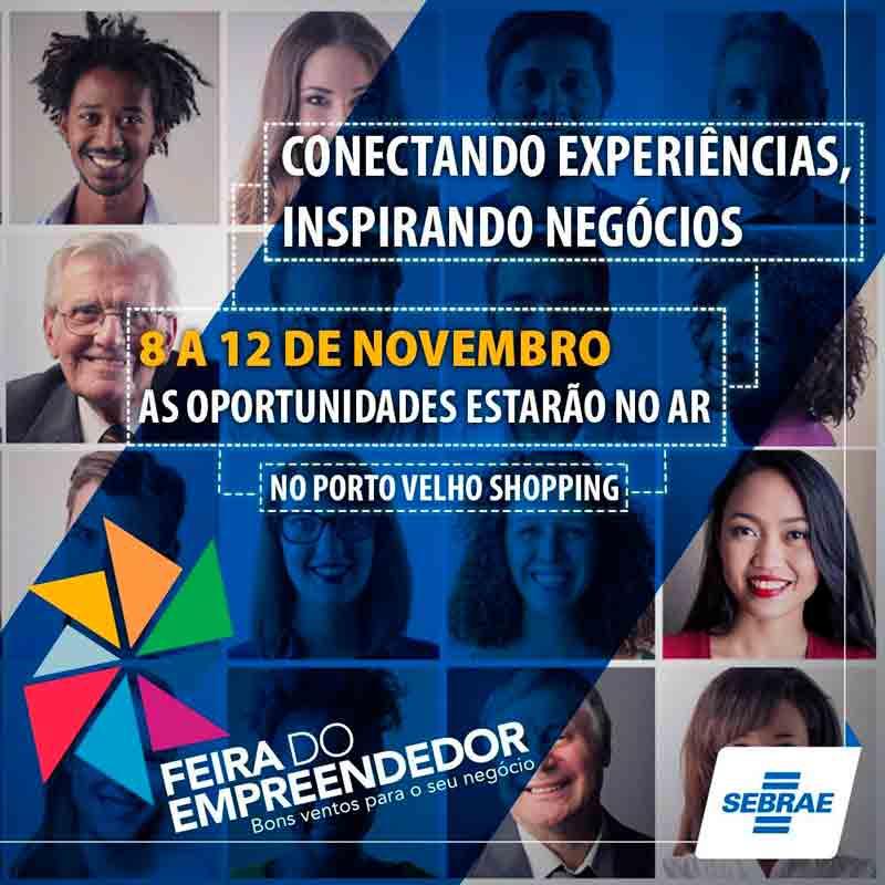 Palestra com Daniel Bizon na feira do empreendedor de Porto Velho