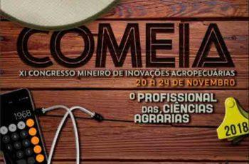 CONGRESSO MINEIRO DE INOVAÇÕES AGROPECUÁRIAS – COMEIA
