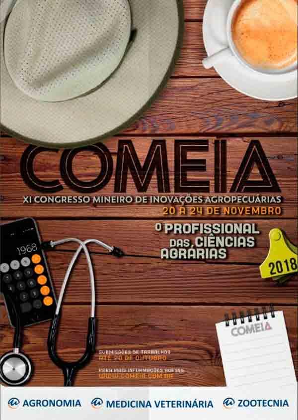 Cartaz do Congresso Mineiro de Inovações Agropecuárias anuncia palestra com mágica de Daniel Bizon
